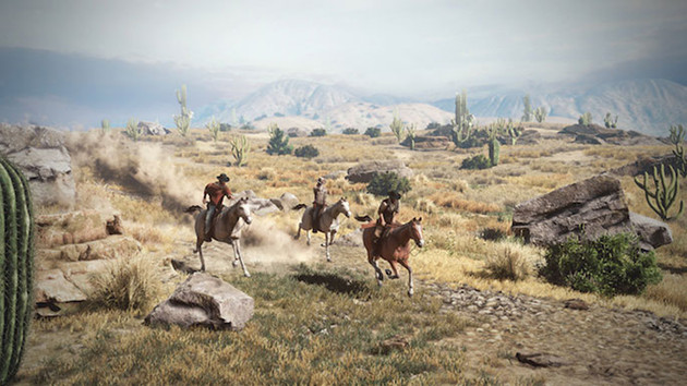 Wild West Online gra screen konie