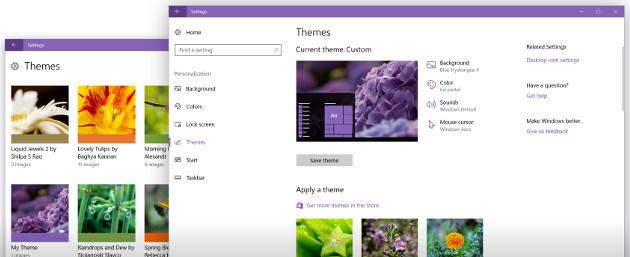 Windows 10 kompozycje