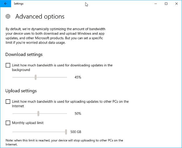 Windows 10 prędkość aktualizacji