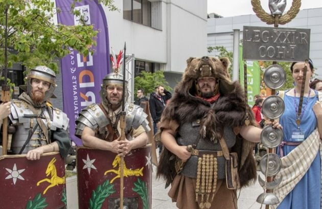 Legion rzymski na pyrkonie