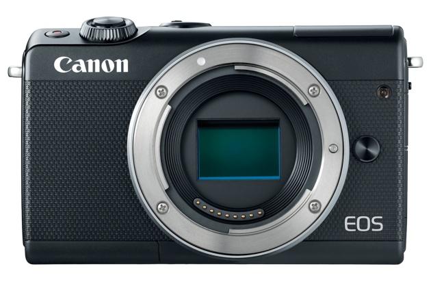 Canon EOS M100 przód sensor