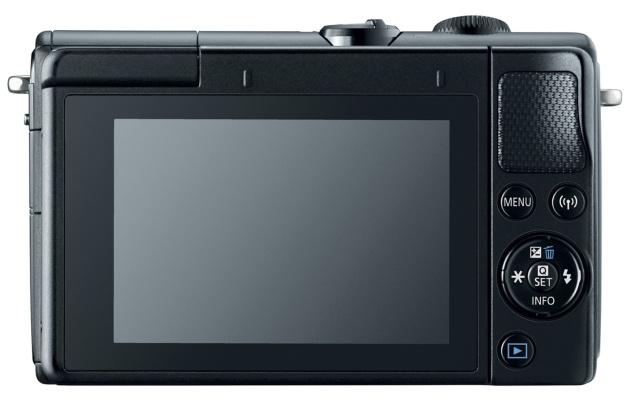 Canon EOS M100 tył ekran