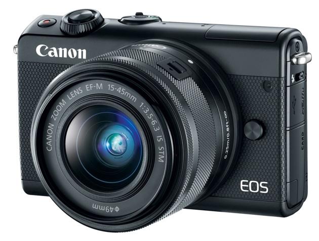 Canon EOS M100 przód bok