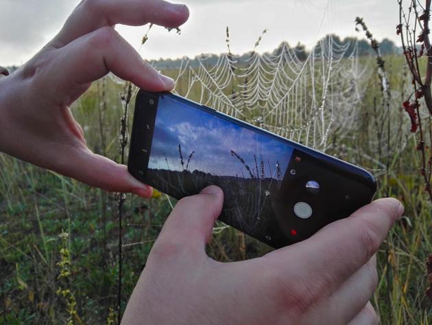 Fotografowanie smartfonem makro