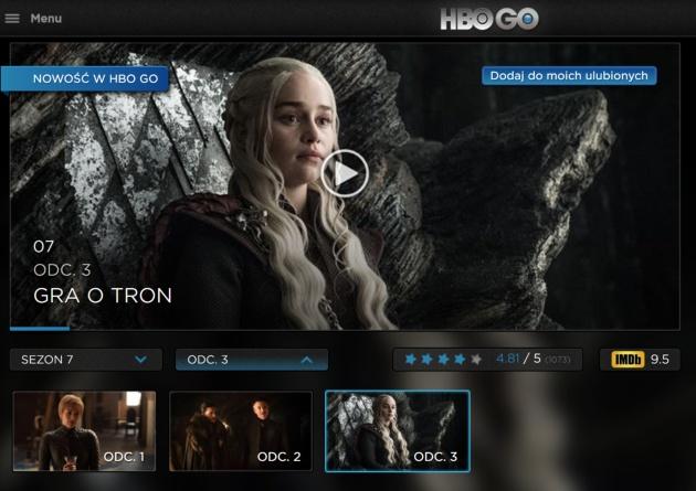 HBO Go aplikacja