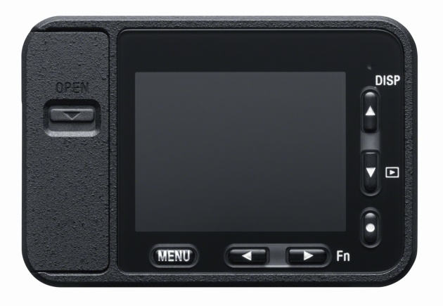 Sony RX0 tył