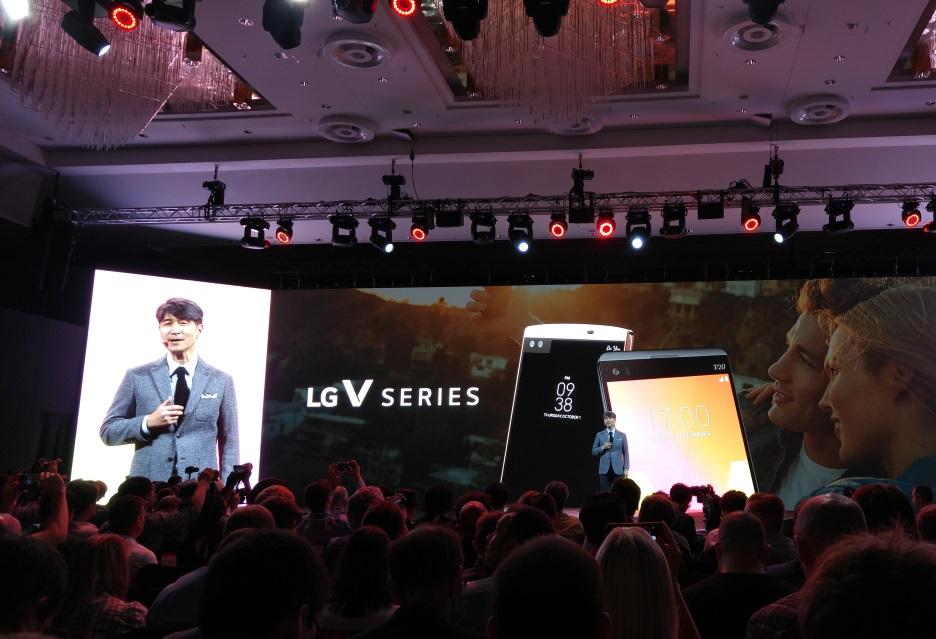 konferencja LG V30