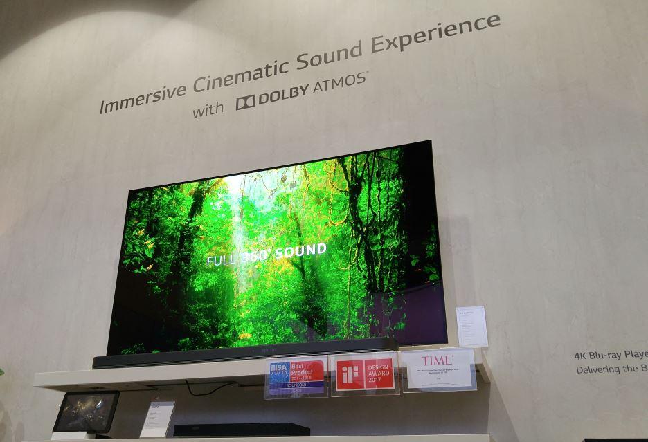 LG soundbar Dolby Atmos