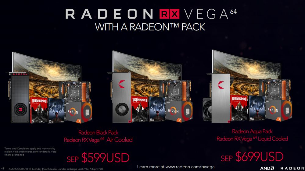 AMD Radeon Packs