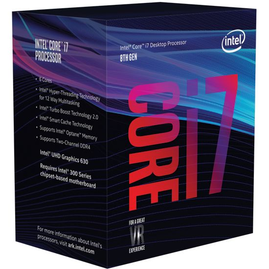 Intel Core i7 - Coffee Lake