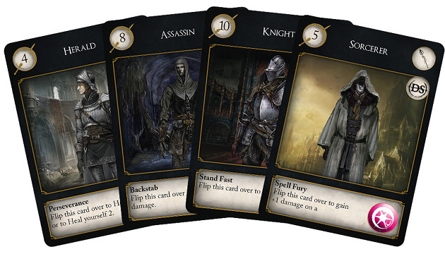 Dark Souls: The Card Game klasy