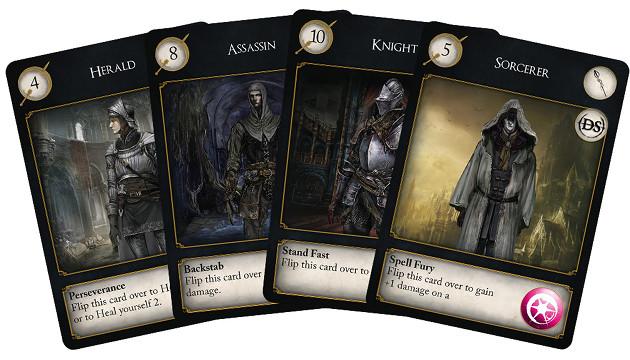 Dark Souls: The Card Game klasy