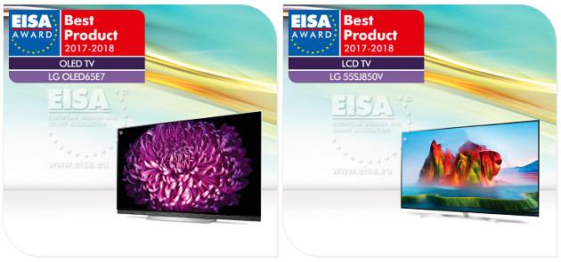 EISA 17 TV najlepsze