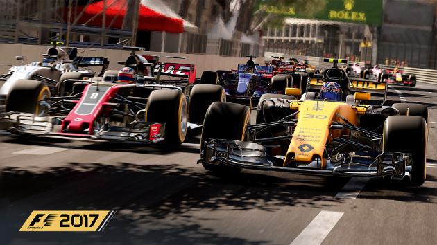 F1 2017 screen
