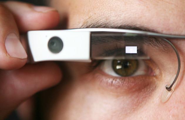 Google Glass EE oko