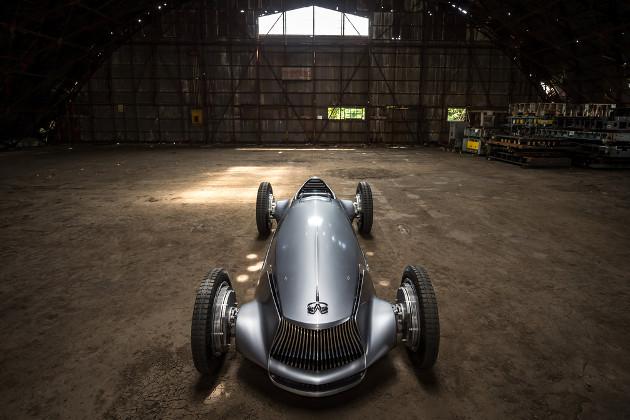 Infiniti Prototype 9 samochód prototyp góra
