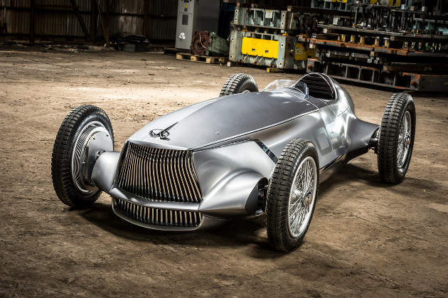 Infiniti Prototype 9 samochód prototyp przód
