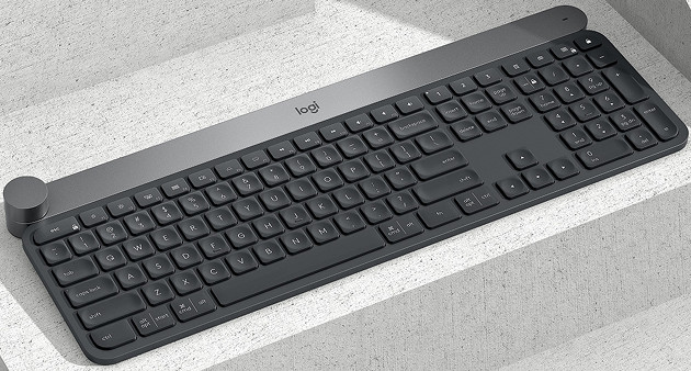Logitech CRAFT bok