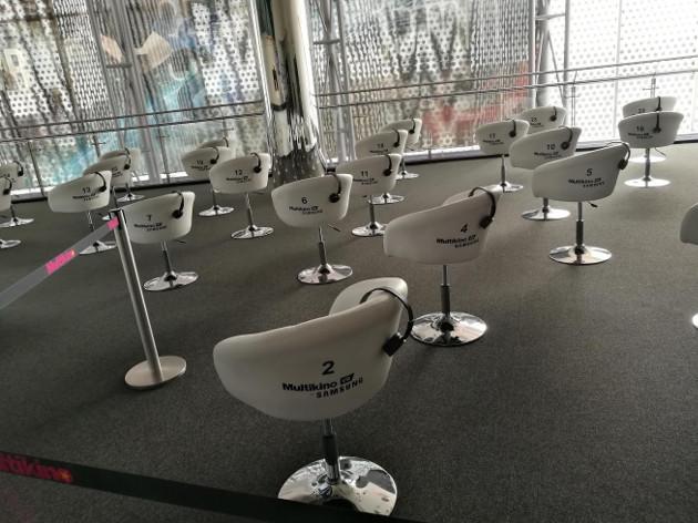 Multikino VR stanowiska