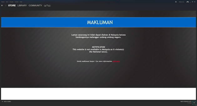 Steam Malezja