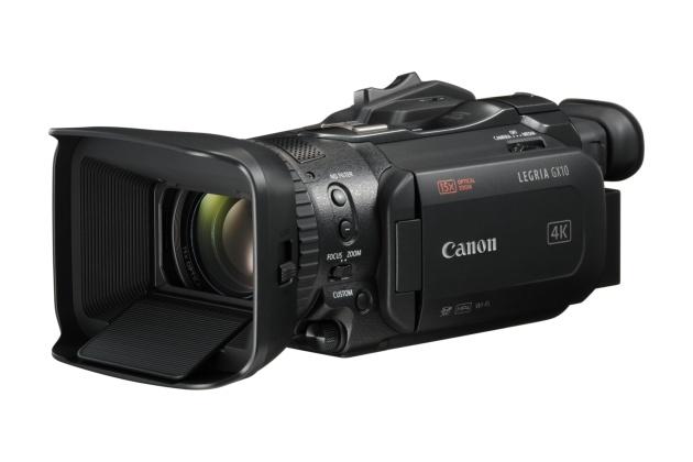 Canon Legria GX10 przód