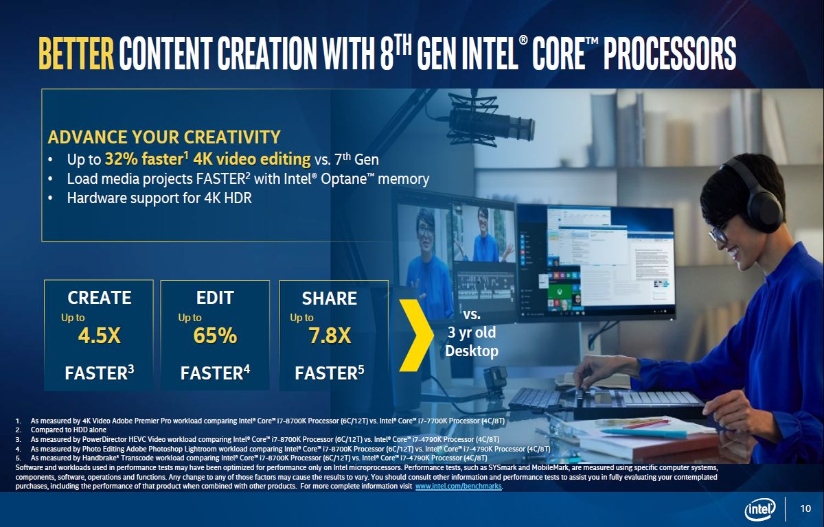 Intel Core 8. gen - Coffee Lake