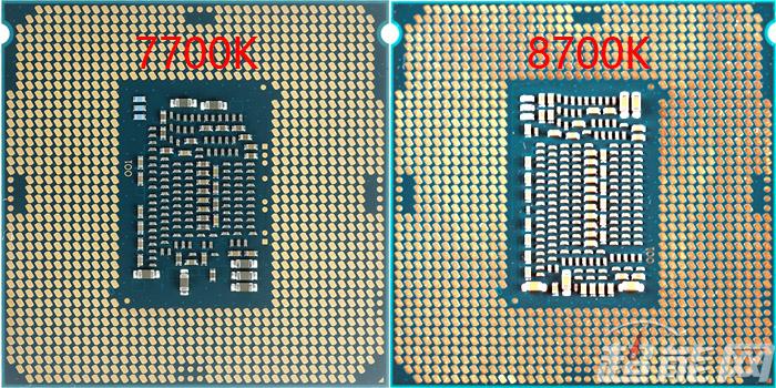 Intel Core i7-7700K i Core i7-8700K