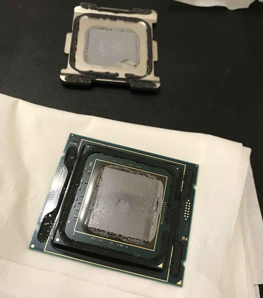 Intel Core i9-7980XE - delidding