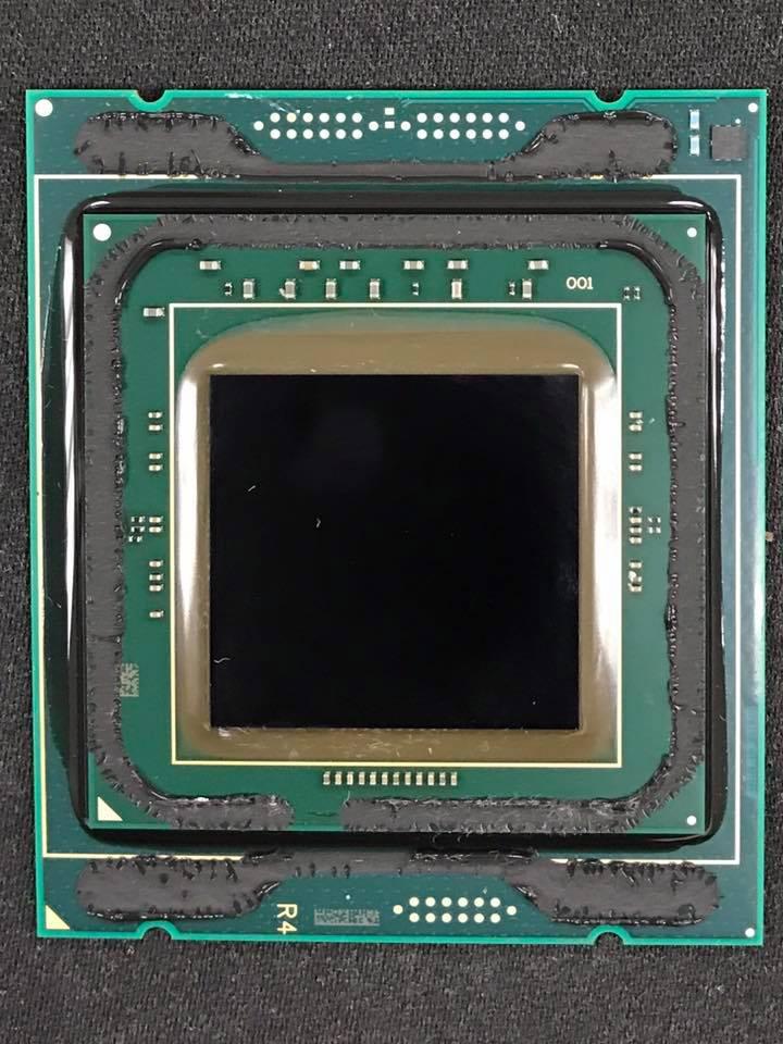 Intel Skylake-X HCC - delidding