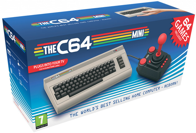 C64 Mini pudełko