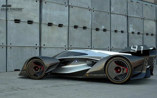 GT Sport McLaren bok