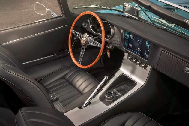 Jaguar E-type Zero wnętrze