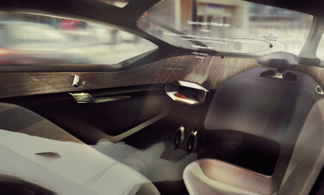 Jaguar Future-Type wnętrze