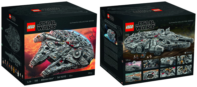 LEGO Sokół Millenium zestaw