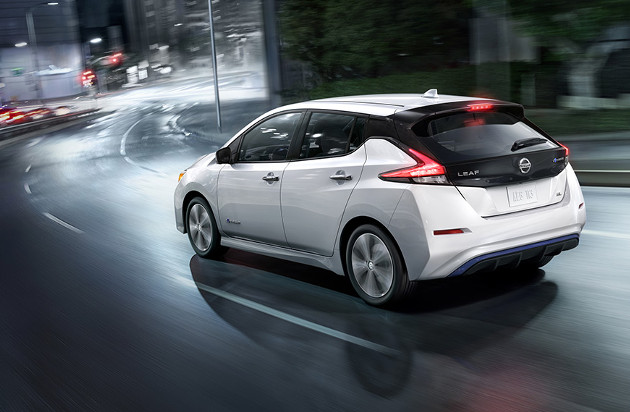 Nissan Leaf tył