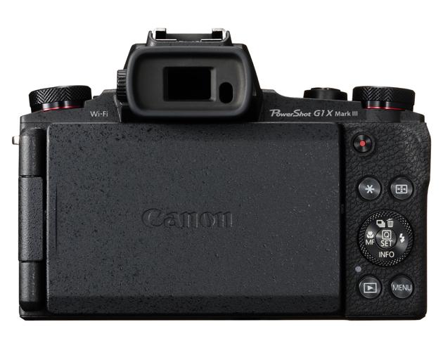 Canon Powershot G1X Mark III LCD tył