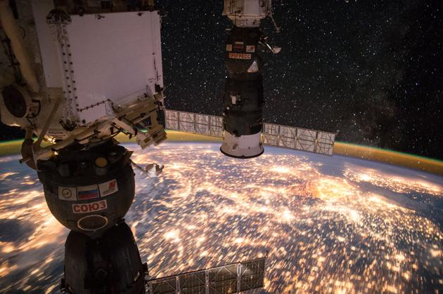 ISS Sojuz