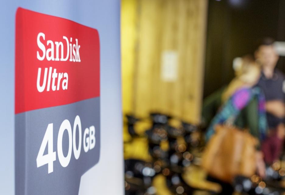 SanDisk reklama