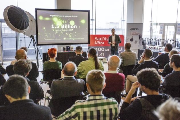 Ruben Dennenwaldt konferencja WD i SanDisk
