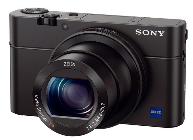 Sony RX100 Mark III przód