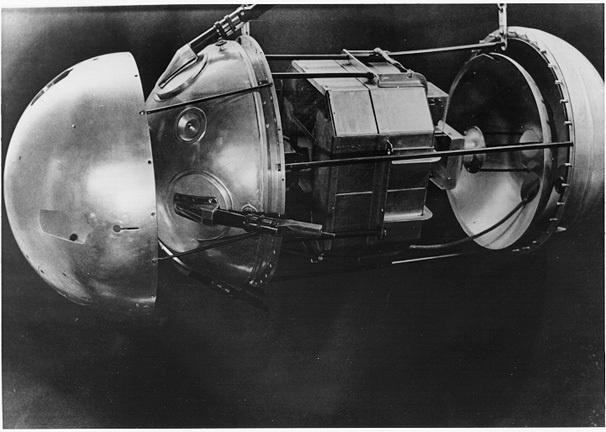 Sputnik 1 budowa