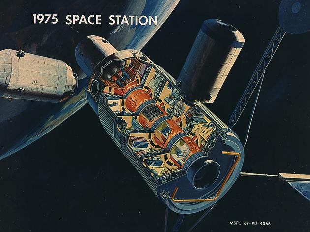 Wizja stacja kosmiczna