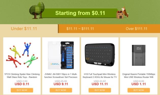 Geekbuying promocja najniższe ceny