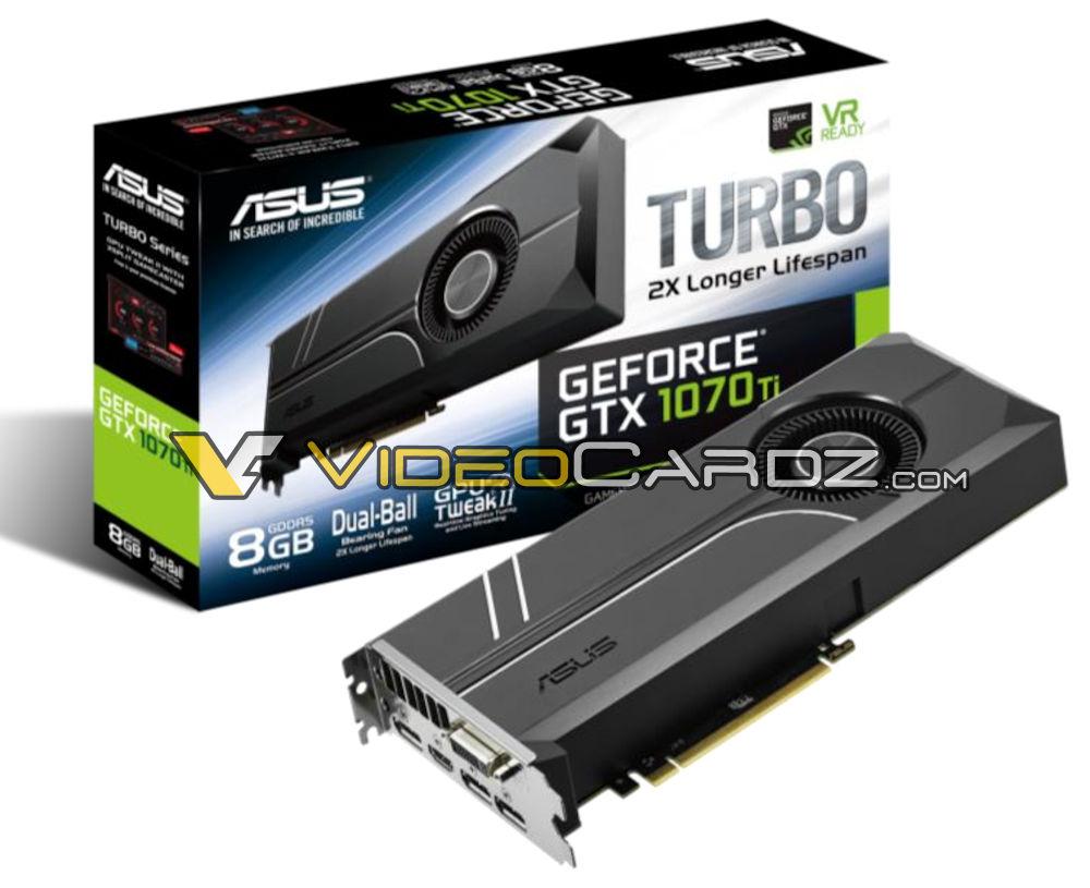 ASUS GeForce GTX 1070 Ti Turbo