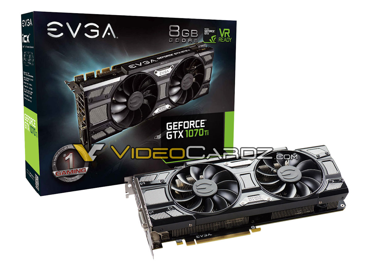 EVGA GeForce GTX 1070 Ti Black
