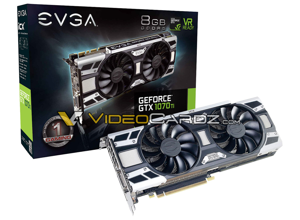 EVGA GeForce GTX 1070 Ti iCX