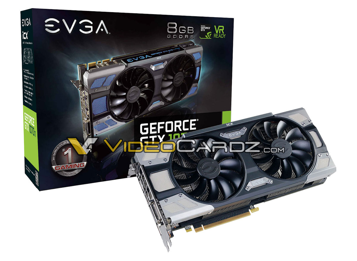 EVGA GeForce GTX 1070 Ti FTW3