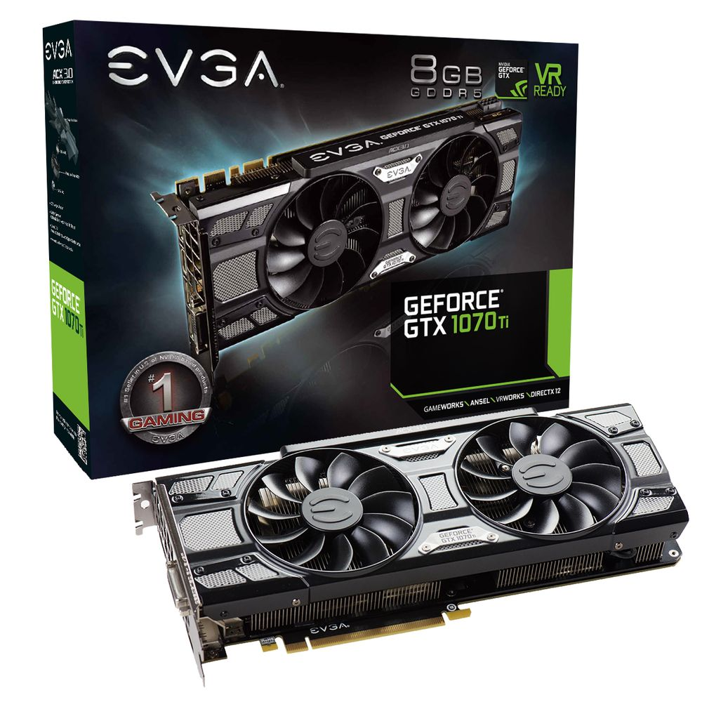 EVGA GeForce GTX 1070 Ti SC Black Edition