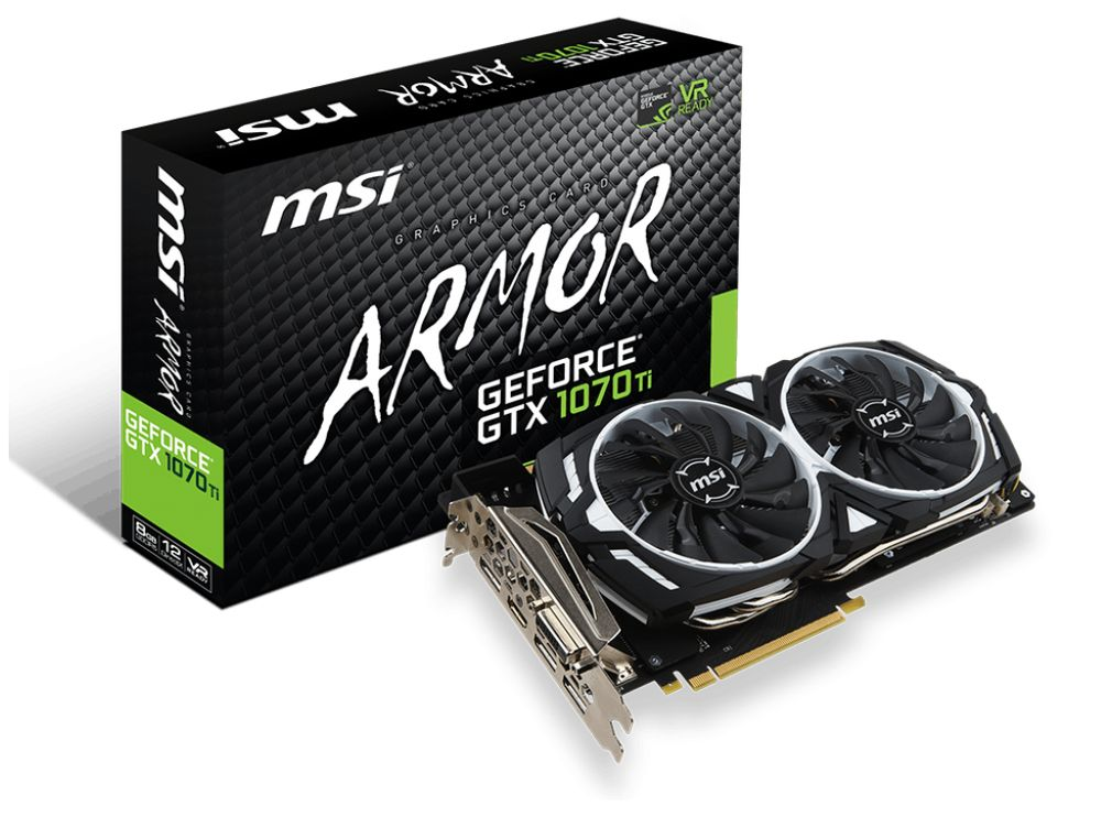 MSI GeForce GTX 1070 Ti ARMOR 8G