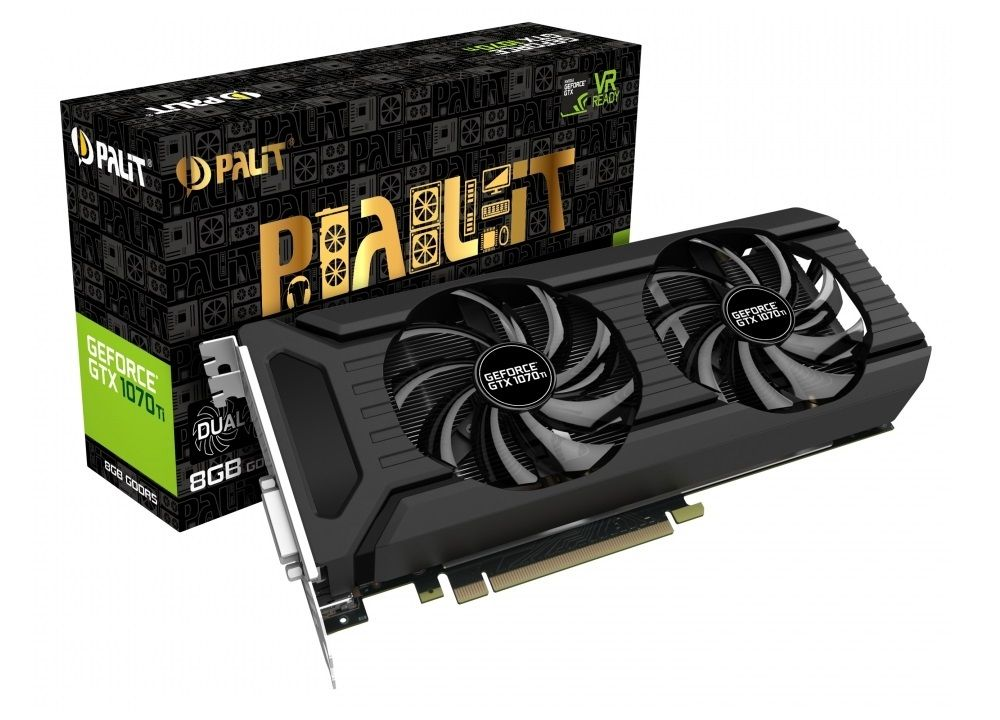 Palit GeForce GTX 1070 Ti Dual